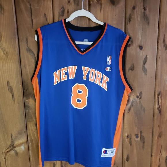 13432eb2d10 Vintage Shirts | Vtg New York Knicks Jersey Sprewell Nba Champion ...